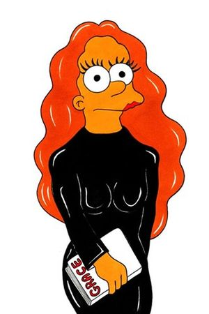 Grace Coddington Marge Simpsonk�nt