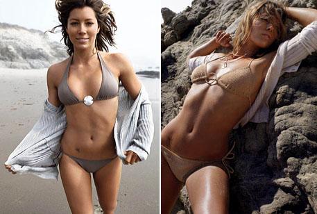 Jessica Biel sier, ikke enkelt å holde seg til diett- og treningsrutinene! thumbnail