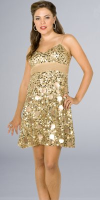 Gold Sequin Party