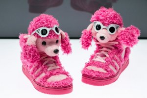 Pink Poodle by Jeremy Scott and Adidas